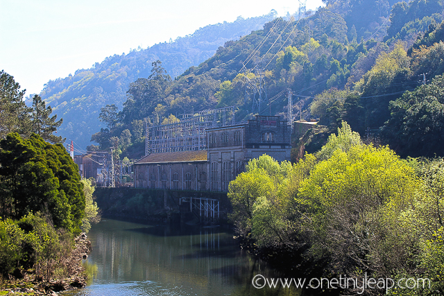 Old Electricity Plant, Geres via One Tiny Leap Blog
