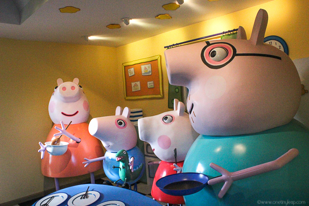 One Tiny Leap • Peppa Pig World