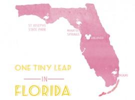FLORIDA ROADTRIP | one tiny leap