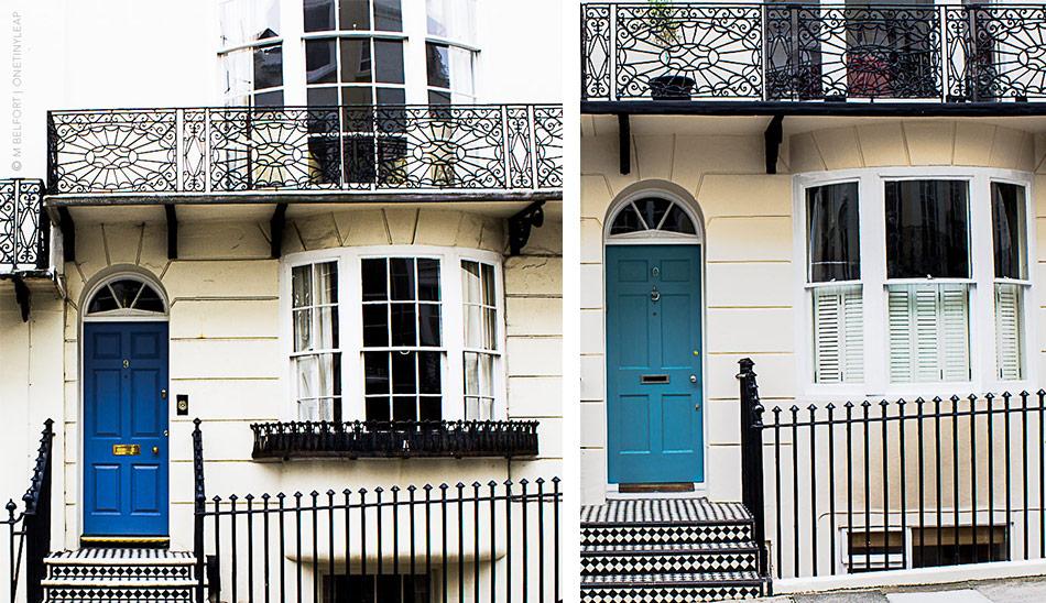 Kemp Town Brighton Doors