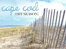 CAPE COD OFF SEASON