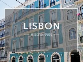 Lisbon Weekend Guide via One Tiny Leap