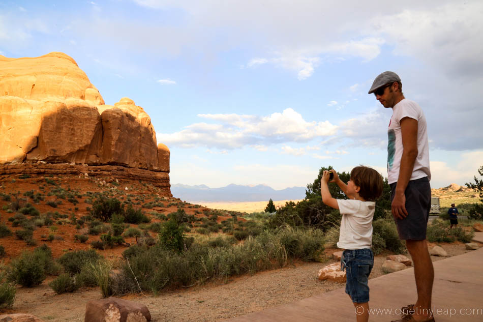 Arches National Park via One Tiny Leap