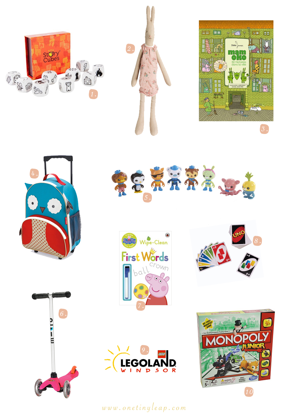 Christmas Gift Inspiration for Travelling Kids