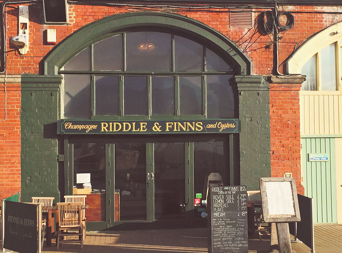 Riddle and Finn Seafood And Family Friendly Brighton